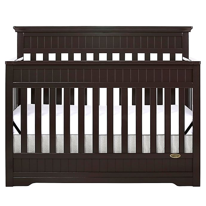 Alternate image 1 for Dream On Me Chesapeake 5-in-1 Convertible Crib in Mocha