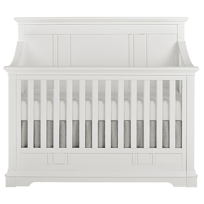 Alternate image 1 for evolur™ Parker 5-in-1 Convertible Crib in Winter