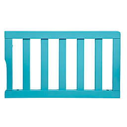 Dream On Me Universal Convertible Crib Toddler Guard Rail in Aqua