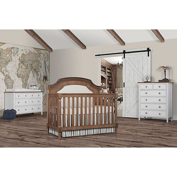 Alternate image 1 for evolur™ Julienne Nursery Furniture Collection in Toffee/Brushed White