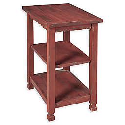 Alaterre Country Cottage 2-Shelf End Table