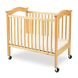 LA Baby® Berkshire Portable Crib with Clear Panels in Natural
