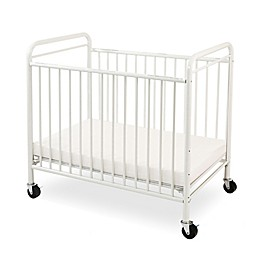 LA Baby® The Condo Portable Crib with Clear Panels in White