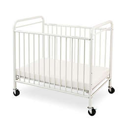 LA Baby® The Condo Portable Mini Crib with Clear Panels in White