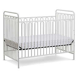 LA Baby® Trinity 3-in-1 Convertible Crib in Alabaster