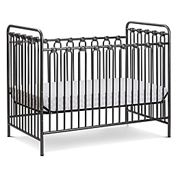 LA Baby® Napa 3-in-1 Convertible Crib in Grey Pebble