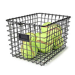 Spectrum Small Metal Storage Basket