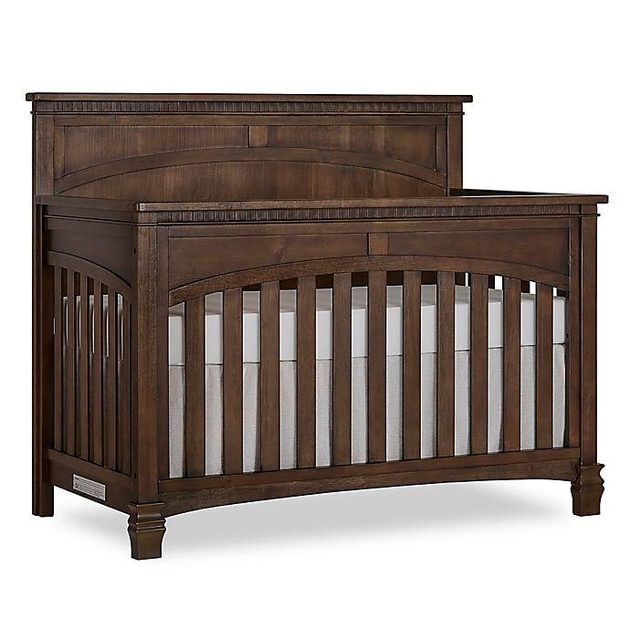 Alternate image 1 for évolur™ Santa Fe 5-in-1 Convertible Crib in Antique Brown
