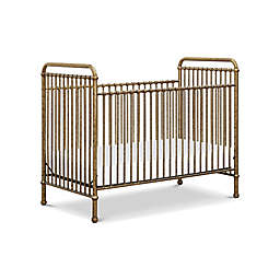 Million Dollar Baby Classic Abigail 3-in-1 Convertible Crib in Vintage Gold