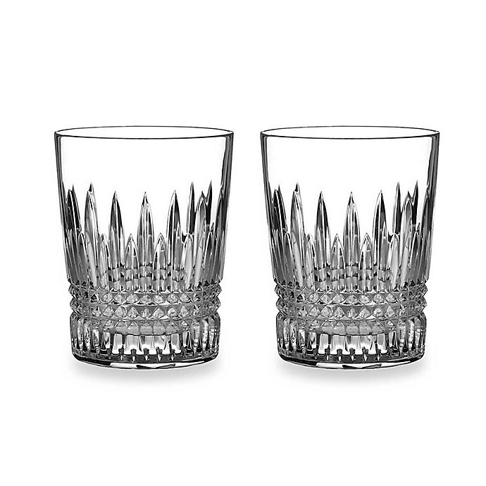 Alternate image 1 for Waterford® Lismore Diamond 12-Ounce Tumblers (Set of 2)