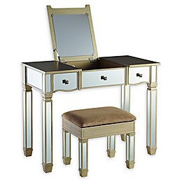 Powell Rodeo Vanity Set in Silver