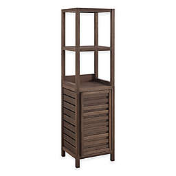 Haven™ No Tools Bamboo Tower Cabinet