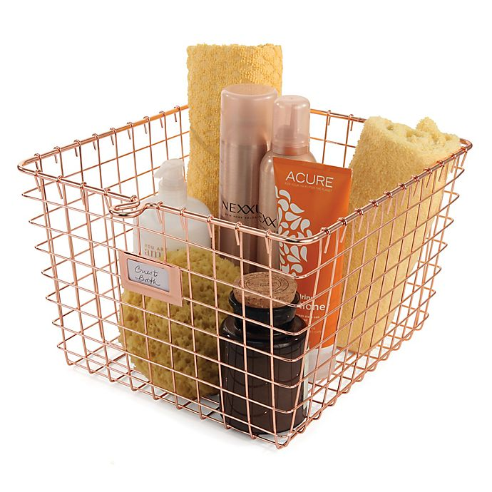 Alternate image 1 for Spectrum™ Medium Storage Basket