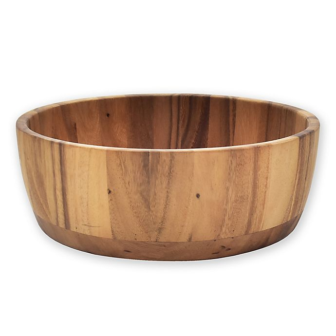 Alternate image 1 for Artisanal Kitchen Supply Acacia Salad Bowl in Natural