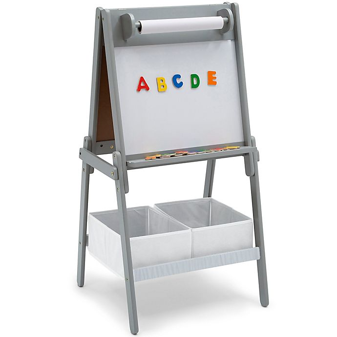 Alternate image 1 for Delta Children Chelsea Storage Easel with Paper Roll and Magnet