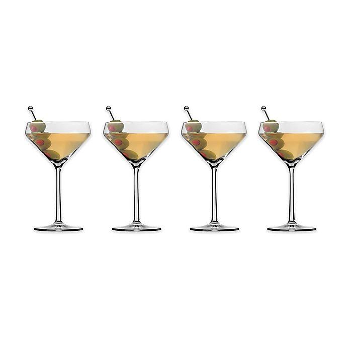 Alternate image 1 for Schott Zwiesel Tritan Pure Martini Glasses (Set of 4)