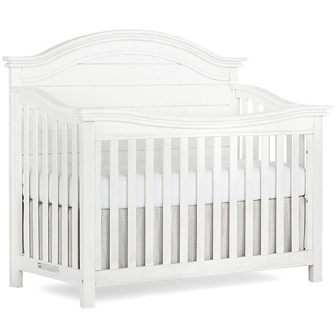 Alternate image 1 for evolur™ Belmar 5-In-1 Convertible Curved Top Crib