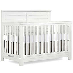 evolur™ Belmar 5-In-1 Convertible Flat Top Crib in Weathered White