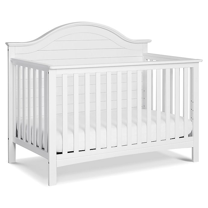 Alternate image 1 for carter's® by DaVinci® Nolan 4-in-1 Convertible Crib in White