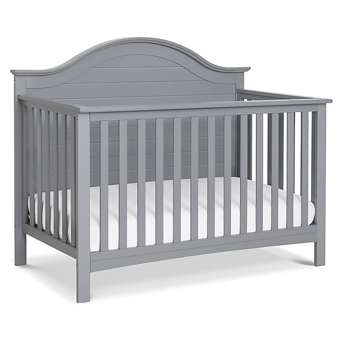 Alternate image 1 for carter's® by DaVinci® Nolan 4-in-1 Convertible Crib in Grey