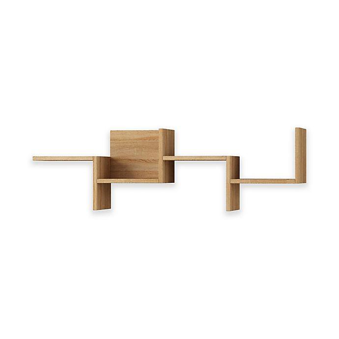 Alternate image 1 for Ada Home Decor Watson 45.5-Inch Modern Wall Shelf in