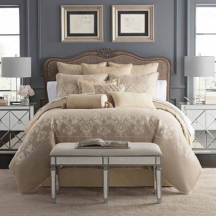 Alternate image 1 for Waterford® Abrielle Reversible Comforter Set