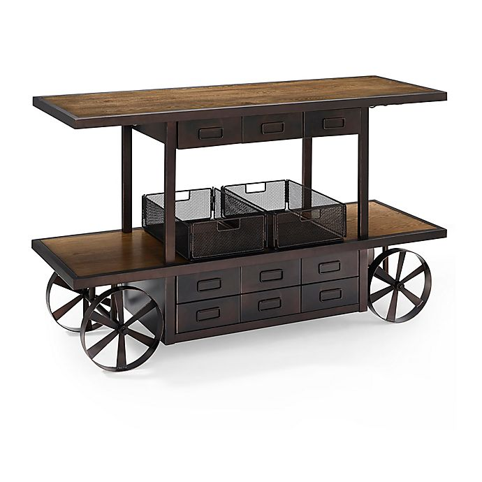 Alternate image 1 for Crosley Porter Entertainment Console in Coffee