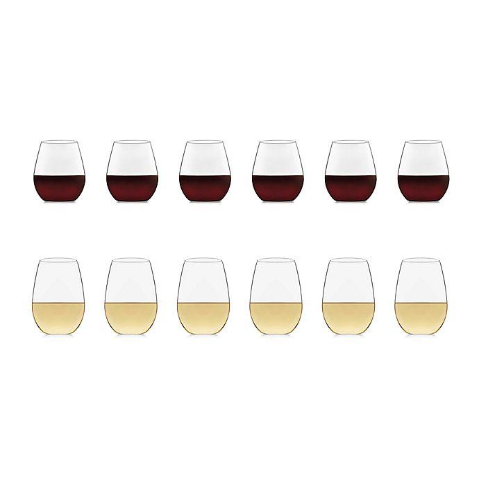 Alternate image 1 for Libbey® Glass Signature Kentfield 12-Piece Stemless Wine Glass Set