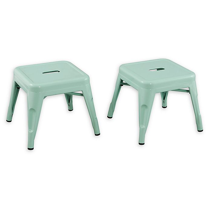 Alternate image 1 for Acessentials® Metal Chairs (Set of 2)