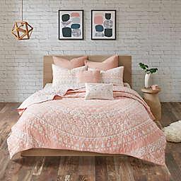 Urban Habitat Larisa Full/Queen Coverlet Set in Blush
