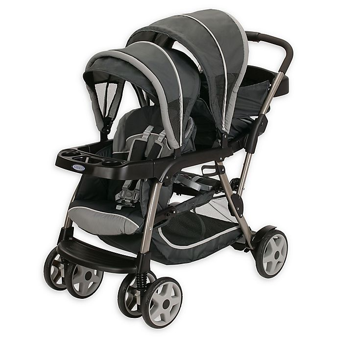 Alternate image 1 for Graco® Ready2Grow™ Click Connect™ LX Stand & Ride Stroller in Glacier