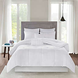 510 Design Codee 8-Piece Queen Comforter Set in White
