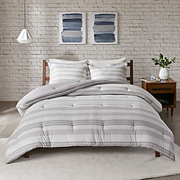 Urban Habitat Cole Jersey Knit 3-Piece King/California King Comforter Set in Grey