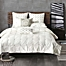 Part of the INK+IVY Masie 3-Piece Comforter Set in Creamy White