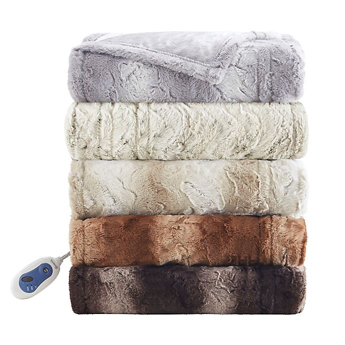 Alternate image 1 for Beautyrest® Zuri Heated Throw Blanket