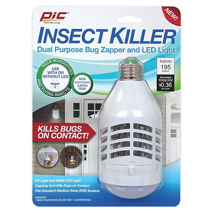 Alternate image 1 for Zapplight™ Motion LED Solar Light Bug Zapper