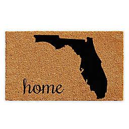 Calloway Mills Florida Home Coir Door Mat in Natural/Black