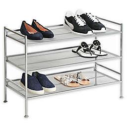 Seville Classics Inc. 3-Tier Multi-Position Mesh Shoe Rack
