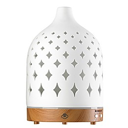 Serene House® Supernova Ceramic Diffuser in White