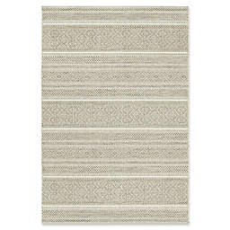 "Bee & Willow™ Home Riverview 7'10"" x 10' Indoor/Outdoor Area Rug in Tan"