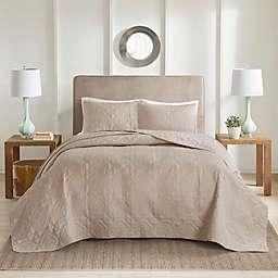 510 Design Oakley King/California King Bedspread Set in Khaki