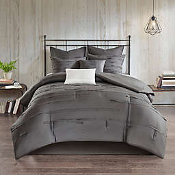 510 Design Jenda 8-Piece King Comforter Set in Grey