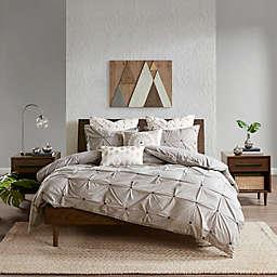 INK+IVY Masie 3-Piece King/California King Comforter Set in Grey