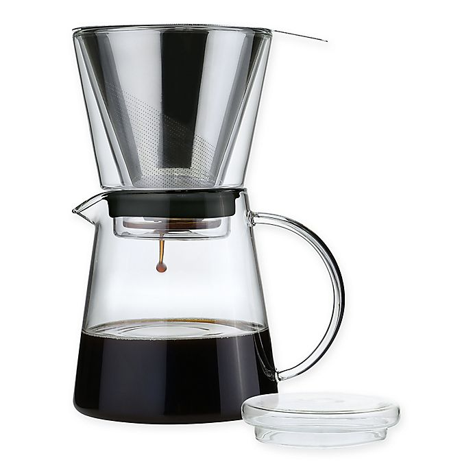 Alternate image 1 for Frieling 25.5 oz. Stainless Steel Pour-Over Coffee Maker