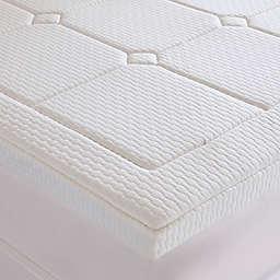 Sleep Philosophy Flexapedic 3-Inch Deluxe Gel Memory Foam Queen Mattress Topper