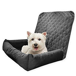 Precious Tails Quilted Microsuede Bolster Pet Car Seat Cover