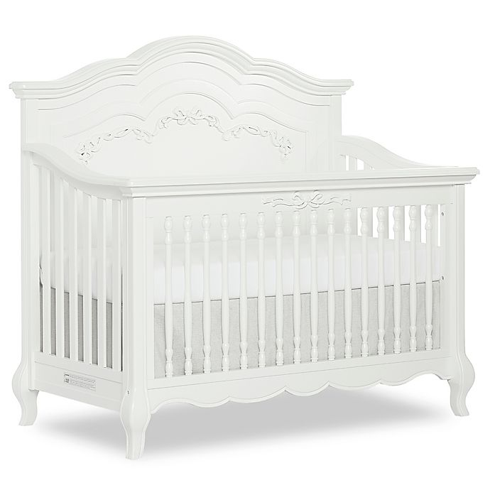 Alternate image 1 for evolur™ Aurora 4-in-1 Convertible Crib