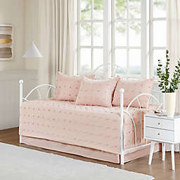Urban Habitat Brooklyn 5-Piece Daybed Coverlet Set in Pink