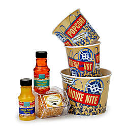 Wabash Valley Farms™ 6-Piece Nostalgic Tub and Popcorn Treat Gift Set