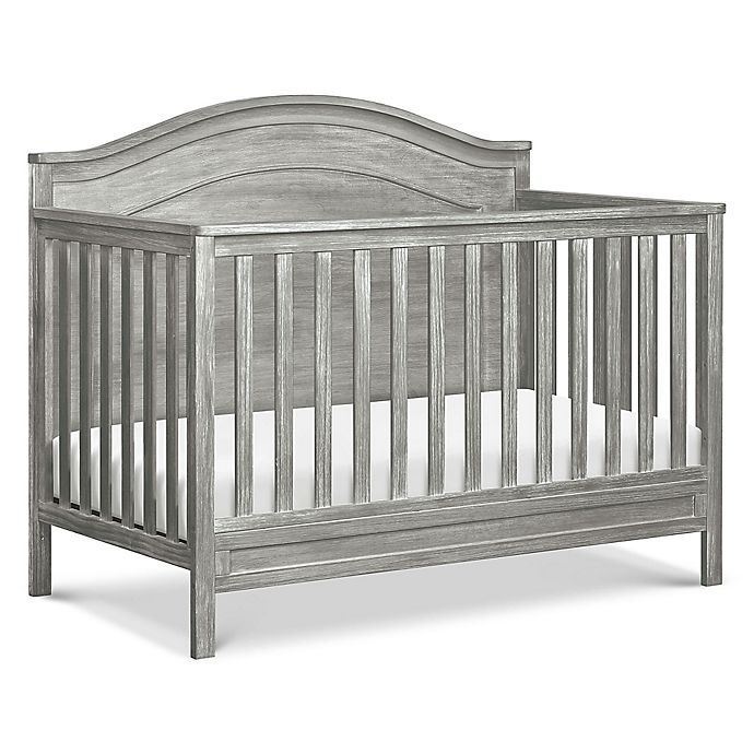 Alternate image 1 for DaVinci Charlie 4-in-1 Convertible Crib in Cottage Grey